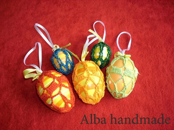Decorative Easter Eggs 5 pieces