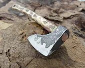 Forged Axe keychain - HKnives