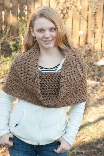 Hooded Cowl Convertible Infinity Scarf, Shawl, and Hood - Custom Color