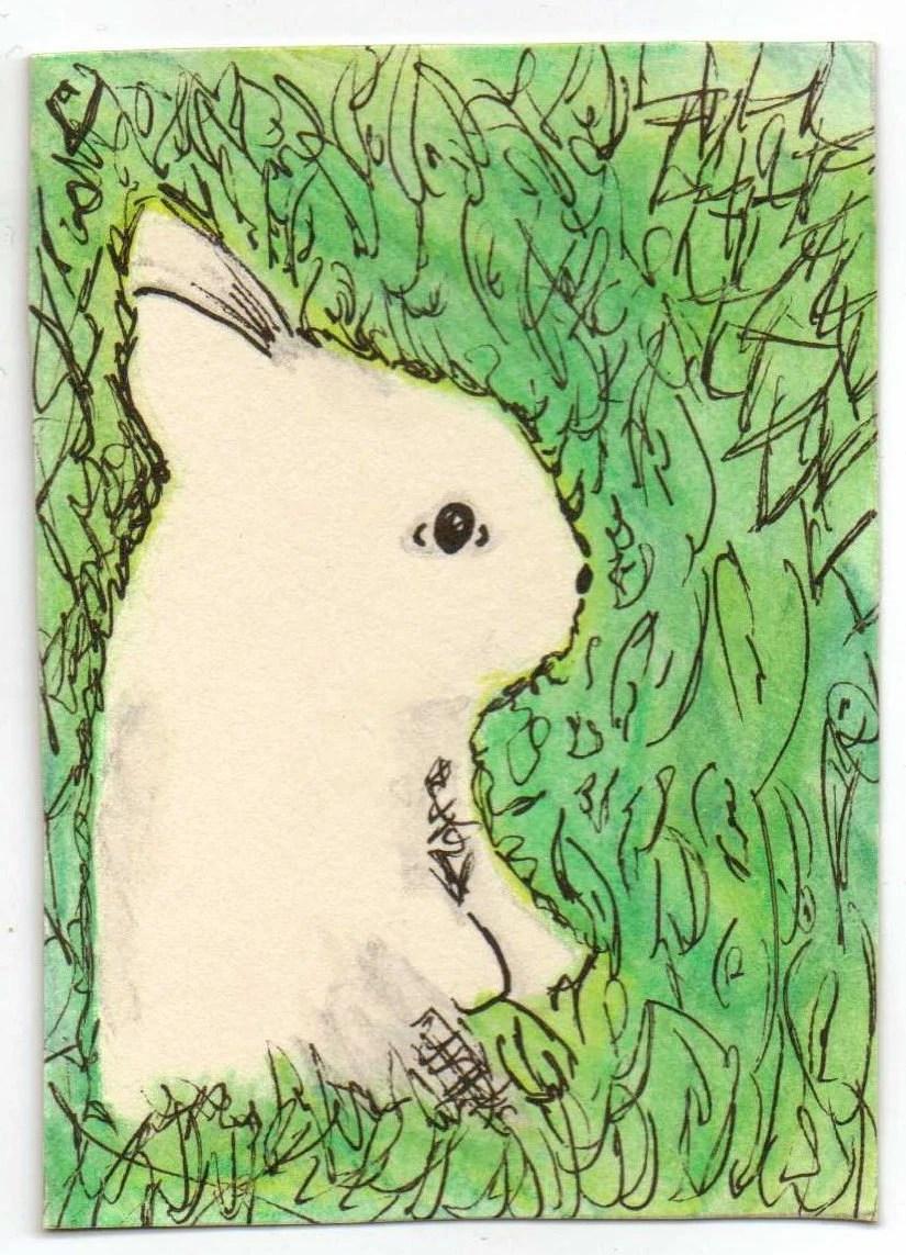 Bunny ACEO Print
