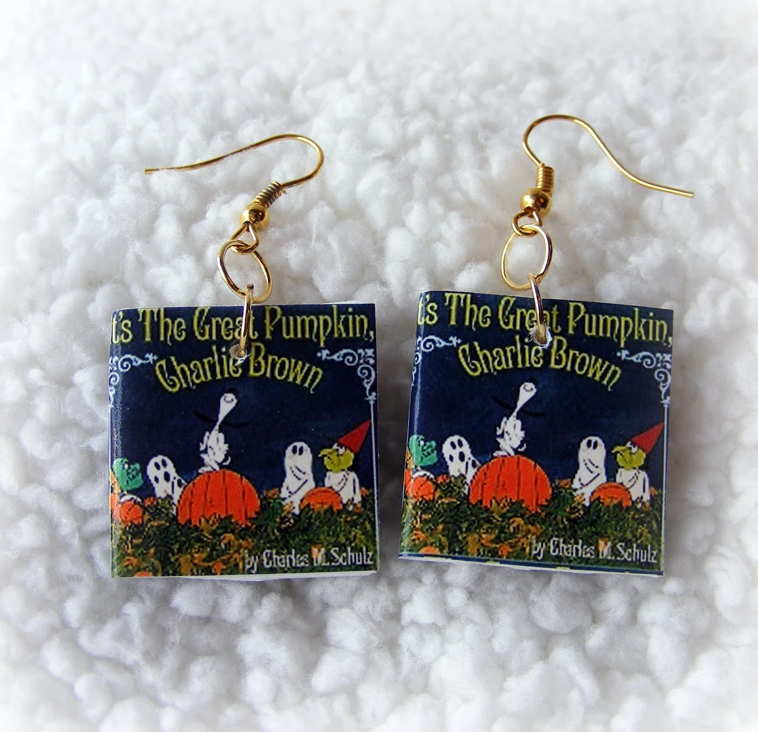 Earrings Great Pumpkin Charlie Brown
