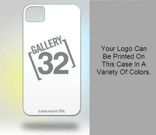 iPhone 4 Case: Custom Logo Case Your Color Choice. - Gallery32Photography