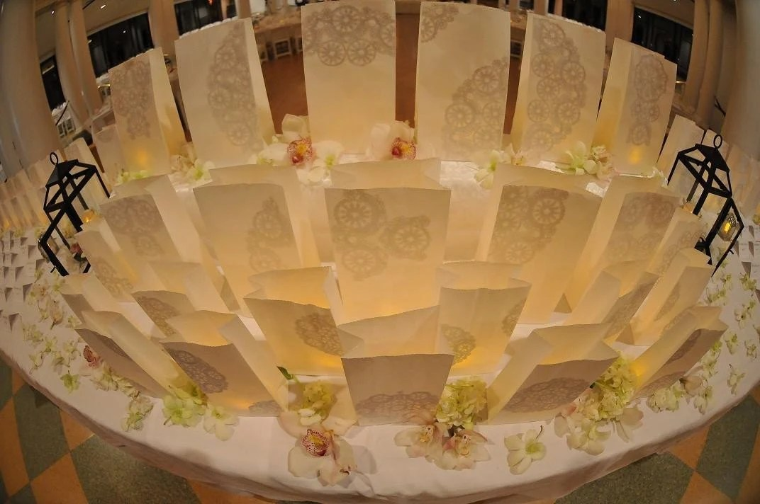 Lovely and lacy wedding - Luminary package