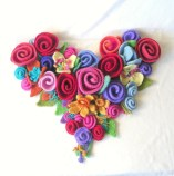 Love Felted Flowers Knitting Pattern