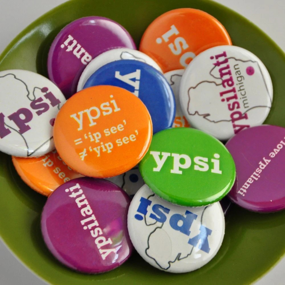 ypsi buttons