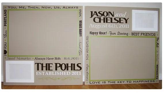 Custom Wedding Guestbook