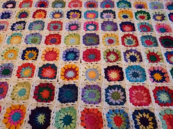 Sugar Circles Blanket Afghan