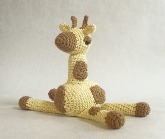 MillieFern Crochet Baby Giraffe Plushie