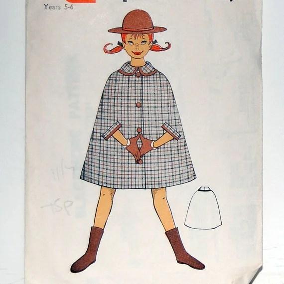 Vintage Blackmore Cape Pattern from vintageblondedesign on Etsy