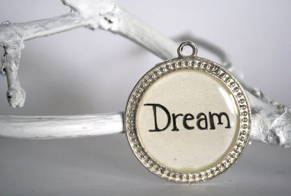 Custom Word Necklace- Hand Painted