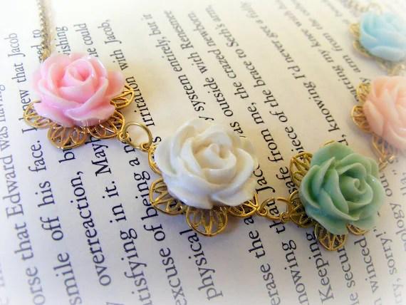 Necklace Vintage Spring