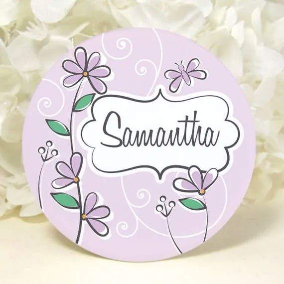 Weddings - Accessories - Bridesmaid Gift Ideas - Pocket Mirror - Personalized - no 139