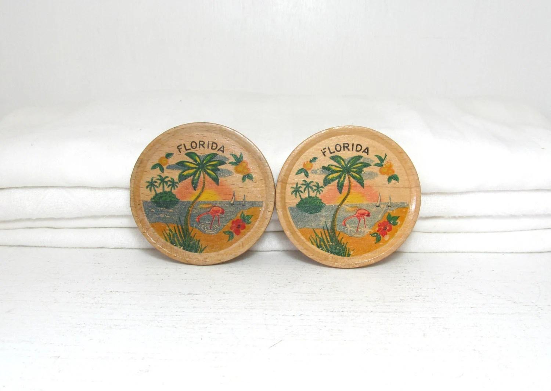 Vintage Florida Coasters - elizabethwrenvintage