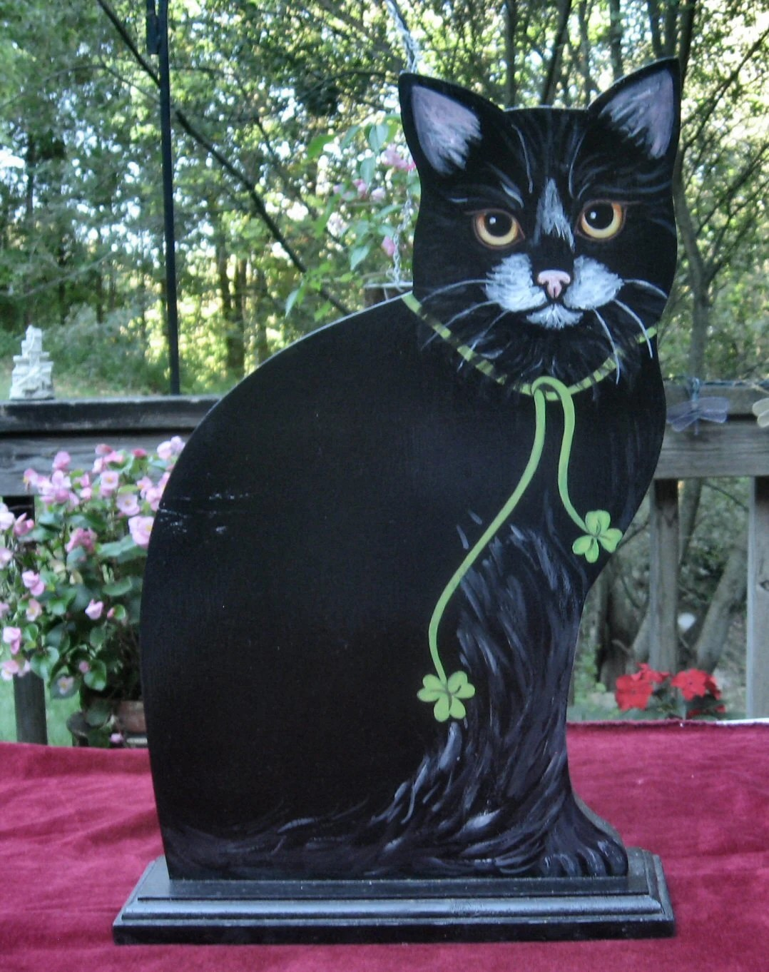 Special Guest Post Black Cat St Patricks Day Black