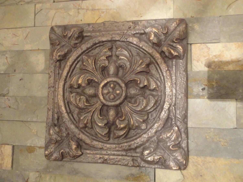 Tuscan Garden Wall Decor Indoor / Outdoor / Oil Rubbed Bronze