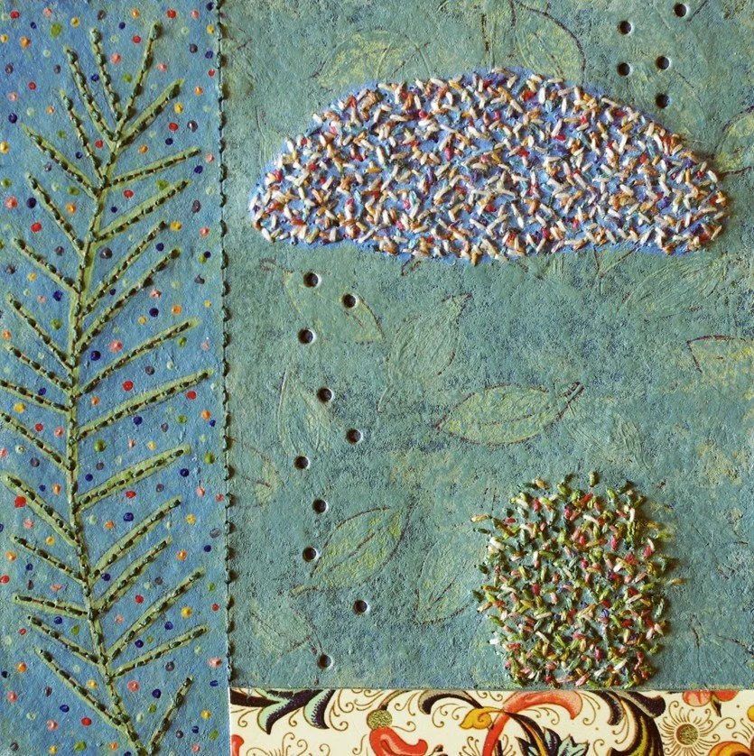 mixed-media collage by Patti Roberts-Pizzuto