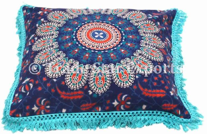 mandala round floor pillows