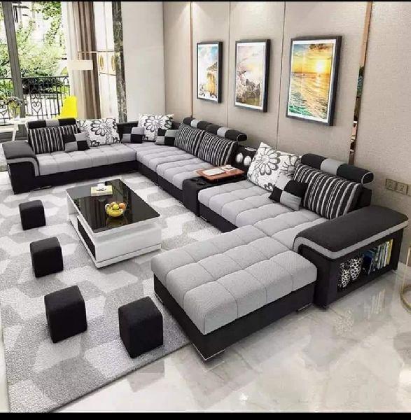 الذكاء افتح مأساوي l sofa set