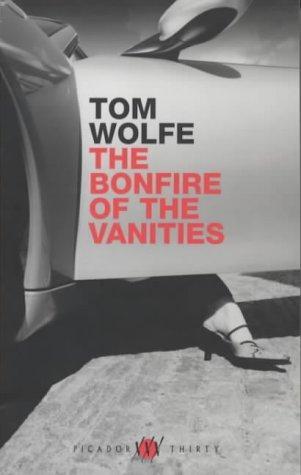 """Portada de l'edició anglesa de """"La Foguera de les vanitats"""", Tom Wolfe."""