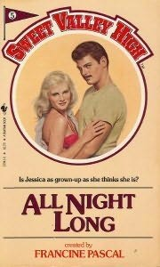book cover of   All Night Long    (Sweet Valley High, book 5)  by  Francine Pascal