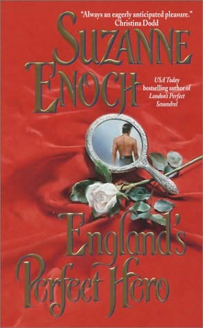 book cover of   England's Perfect Hero    (Lessons in Love, book 3)  by  Suzanne Enoch