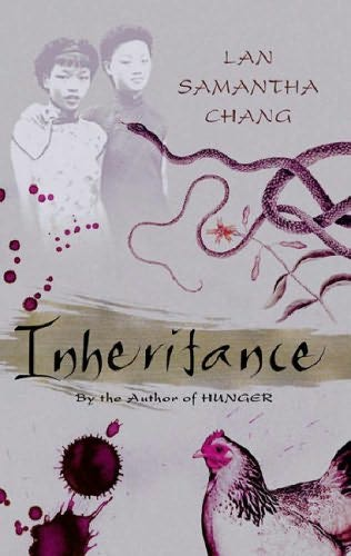 book cover of   Inheritance   by  Lan Samantha Chang