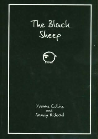 book cover of  The Black Sheep  by Yvonne Collins and  Sandy Rideout