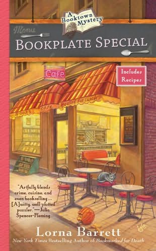 book cover of  Bookplate Special   (Booktown Mystery, book 3) by Lorna Barrett