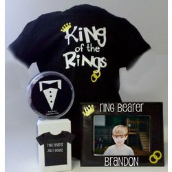 Ring Bearer T-Shirt Gift Set