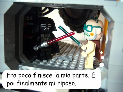 "Giobi-Wan Kenobi: ""Fra poco finisce la mia parte. E poi finalmente mi riposo."""