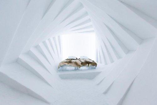 瑞典冰雪酒店盛裝開業 主題房間純美到令人窒息
