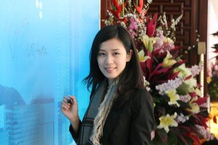 圖文:申銀萬國(香港)聯席董事王雅媛簽到入場_財經_騰訊網