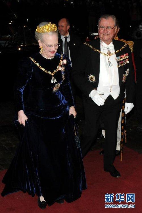 丹麥女王舉辦新年晚宴_財經_騰訊網