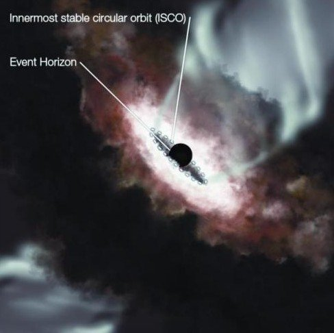 """""""事件視界""""望遠鏡首次測量星系巨黑洞半徑_科技_騰訊網"""