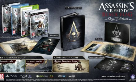 Guide d'Achat : Assassin's Creed 4 Edition Skull, Buccaneer, Collector, The Watch?!