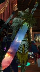 Sunrise arme legendaire guild wars 2