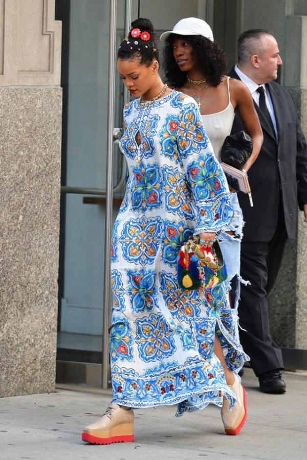 Модные длинные платья лета 2016 (фото)