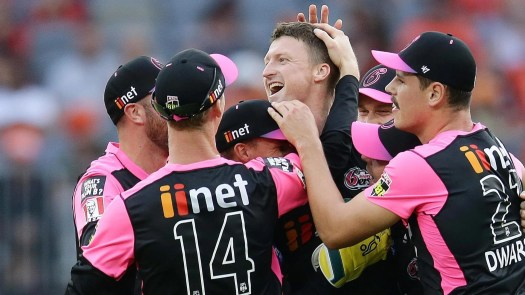 Sydney Sixers beat Perth Scorchers - Syd Sixers won by 48 ...