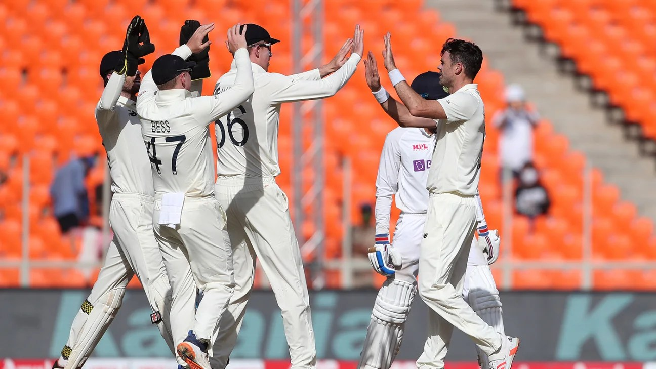 Latest match report – England vs India, fourth test 2020/21