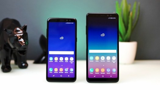 Galaxy A8 A8+ celular Samsung