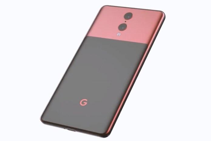 Google Pixel 4 conceito