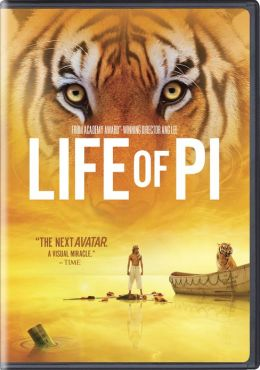DVD cover for Life of Pi