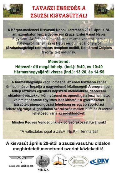 Erdős-pusztai Horgász portál: kisvasuti nap 2012