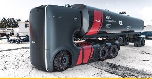 Audi,грузовик