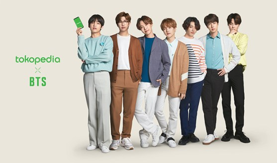 Tokopedia Announces BTS as the company's Brand Ambassador | Kpopmap