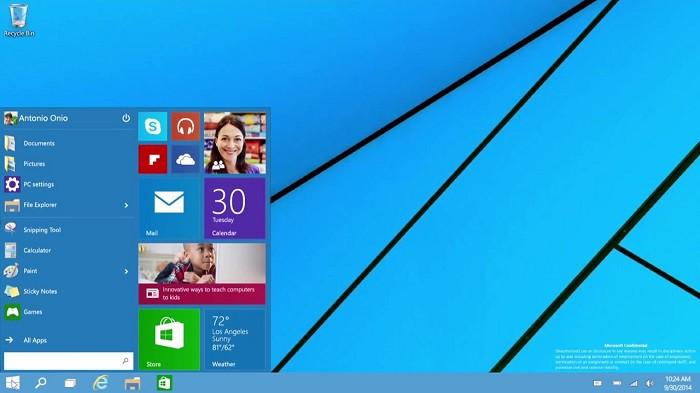 Présentation du nouveau windows !!!!