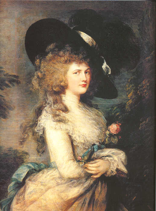 Lady Georgiana Cavendish, Duchess of Devonshire by Thomas Gainsborough