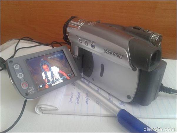 Запись видео с камеры Sony Handycam DCR HC26 в Windows Vista, 7 и 8 без драйверов