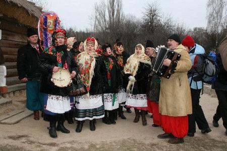 Прилетіли янголята: Кілька українських колядок з mp3