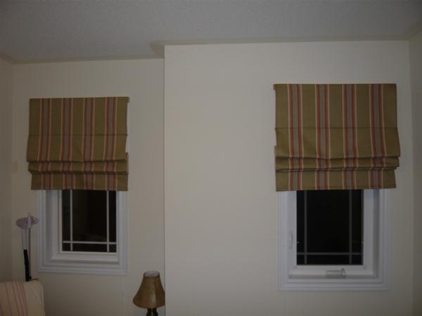 Римские шторы - как шить.
